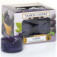 Yankee Candle Teelichter Cassis - 12er Pack