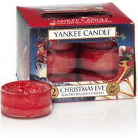 Yankee Candle Teelichter Christmas Eve - 12er Pack
