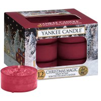 Yankee Candle Teelichter Christmas Magic - 12er Pack