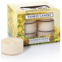 Yankee Candle Teelichter Flowers in the Sun - 12er Pack