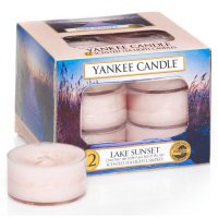Yankee Candle Teelichter Lake Sunset - 12er Pack