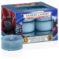 Yankee Candle Teelichter Mulberry & Fig Delight - 12er Pack