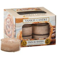 Yankee Candle Teelichter Pain au Raisin - 12er Pack