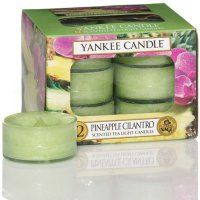Yankee Candle Teelichter Pineapple Cilantro - 12er Pack