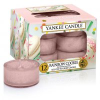 Yankee Candle Teelichter Rainbow Cookie - 12er Pack