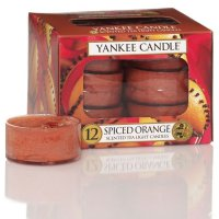 Yankee Candle Teelichter Spiced Orange - 12er Pack