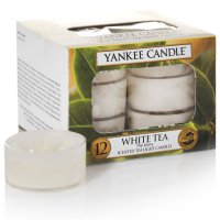 Yankee Candle Teelichter White Tea - 12er Pack