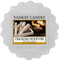 Yankee Candle Wax Melts - Crackling Wood Fire - Duftwachs