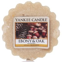 Yankee Candle Wax Melts - Ebony & Oak - Duftwachs