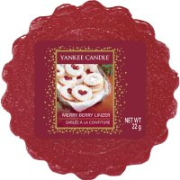 Yankee Candle Wax Melts - Merry Berry Linzer - Duftwachs