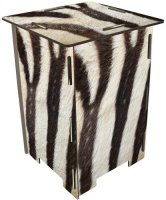 Zebra-Fell - Hocker