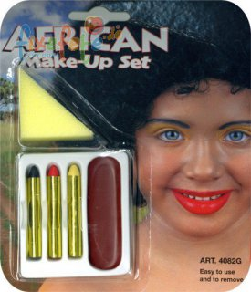 Afrikaner - Make-Up - Schminkset