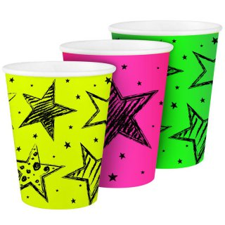Becher - Neon-Party