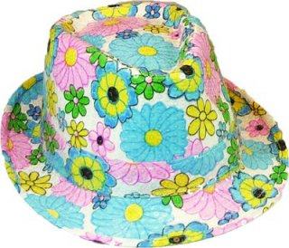 Flower-Power-Hut - Herren