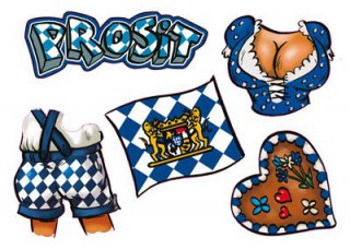 gesichts sticker oktoberfest. Black Bedroom Furniture Sets. Home Design Ideas