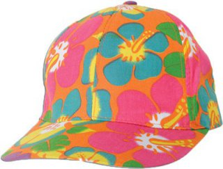 Hawaii-Party - Luau - Cap - orange