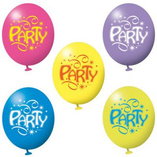 Luftballons - Luftballon-Party - bunt