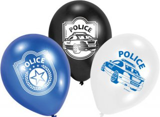 Luftballons - Polizei-Party