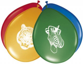 Luftballons - Safariparty - Wildtiere