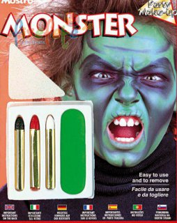 Monster - Make-Up - Schminkset