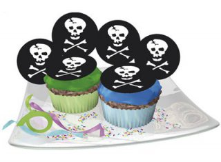 Muffin-Deko - Piraten-Party - 12 St�ck