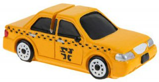 New York Taxi - Yellow Cab - Tischkartenhalter