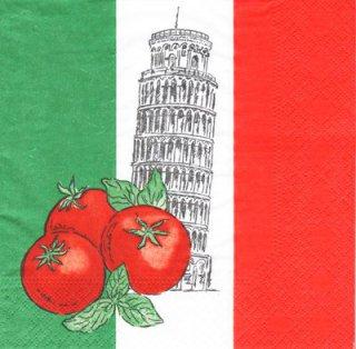 Servietten Italien Schiefer Turm Von Pisa