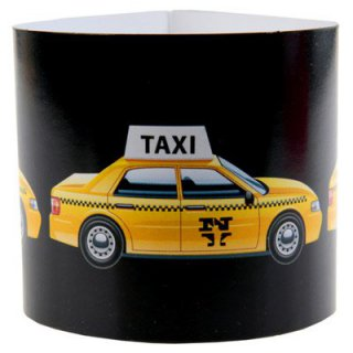 Servietten-Ringe - New York Taxi