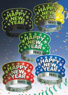 Silvester-Tiara - glow in the dark