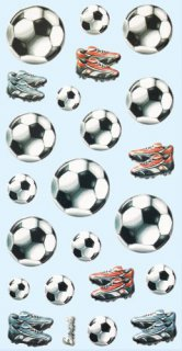 Soft-Sticker - Fussball