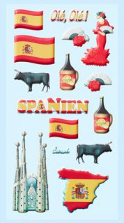 Soft-Sticker - Spanien