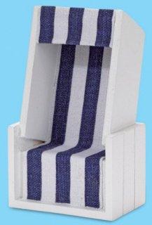 strandkorb wei blau. Black Bedroom Furniture Sets. Home Design Ideas