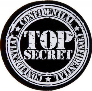 Top Secret - Streu-Tischdeko