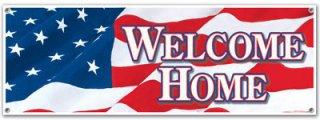 USA-Banner - Amerika - Welcome Home