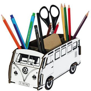 vw bus bulli stiftebox. Black Bedroom Furniture Sets. Home Design Ideas