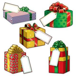 weihnachtsgeschenke deko set 10teilig