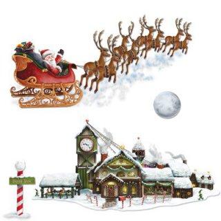 Weihnachten Wanddeko G Nstig Kaufen