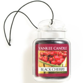 Yankee Candle Car Jar Ultimate - Black Cherry - Autoduft