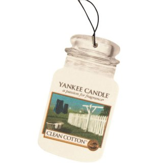 Yankee Candle Car Jar Ultimate - Clean Cotton - Autoduft