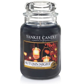 Yankee Candle Duftkerze Autumn Night 623g