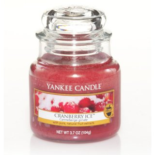 yankee candle cranberry ice 104g kaufen. Black Bedroom Furniture Sets. Home Design Ideas