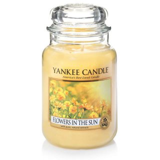 Yankee Candle Duftkerze Flowers in the Sun 623g
