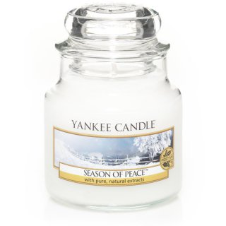 Yankee Candle Duftkerze Season of Peace 104g