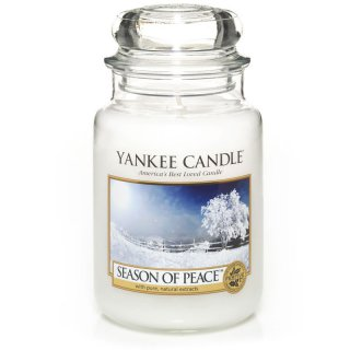 Yankee Candle Duftkerze Season of Peace 623g