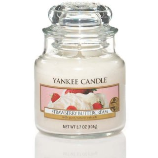 Yankee Candle Duftkerze Strawberry Buttercream 104g