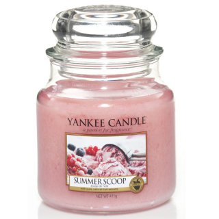 Yankee Candle Duftkerze Summer Scoop 411g