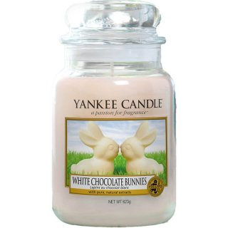Yankee Candle Duftkerze White Chocolate Bunnies 623g
