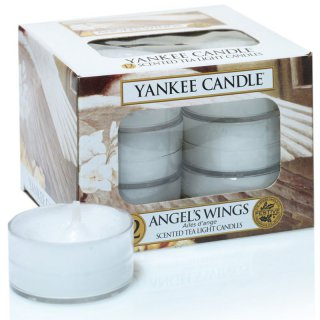 Yankee Candle Teelichter Angel`s Wings - 12er Pack