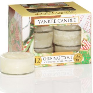 Yankee Candle Teelichter Christmas Cookie - 12er Pack