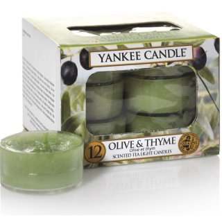 Yankee Candle Teelichter Olive & Thyme - 12er Pack